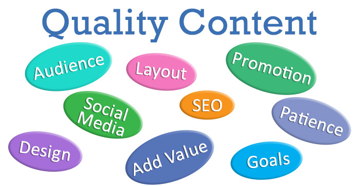 Quality Content Success Factors