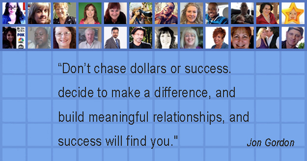 Blogging Success - John Gordon Quote