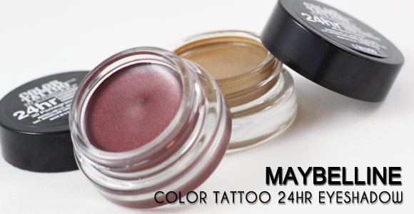 Review:: Maybelline Color Tattoo 24HR Eyeshadow