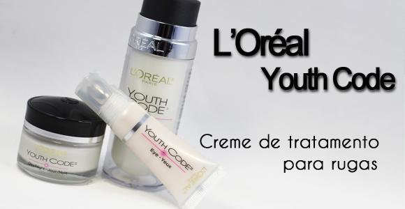 Testei:: L'Oréal Youth Code