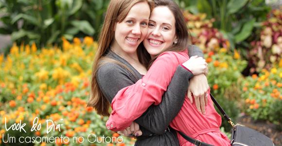 Look do Dia:: Um Casamento no Outono
