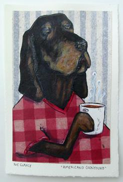 Americano Coonhound by Sue Clancy