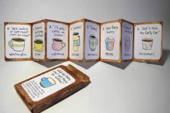 "side B of ""Coffee Please?"" by Sue Clancy"