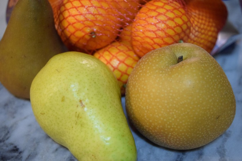 fruit found at the grocery store that inspired Sue Clancy's new handmade paper pattern ideas