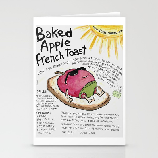 """""""Baked Apple French Toast"""" card - http://tinyurl.com/yd3dkwyt"""