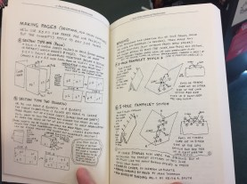 "pages from Clancy's written and illustrated DIY essay in the book ""Making Things Doing Stuff"" collected by Kyle Bravo https://microcosmpublishing.com/catalog/books/1400/"