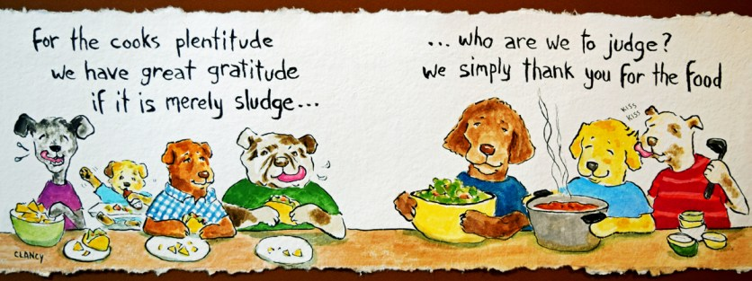 For the cooks plentitude - by Clancy https://www.theydrawandcook.com/artists/sue-clancy