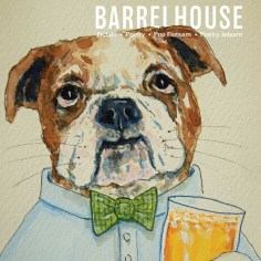 Cover Art for Barrelhouse issue 2- by Clancy - https://www.barrelhousemag.com/