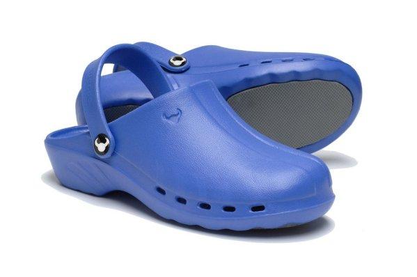 Oden Klompe plave papuce plave Suecos klompe (4)