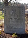 Massasoit monument