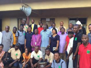 Cross section of participants and facilitators Day 2 (Evening)