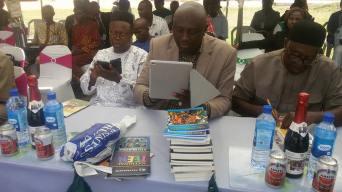 Prof Sam Ukala, Denja Abdullahi, Prof J. O. J Nwachukwu-Agbada