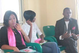 Debbie Ogwuche, Debbie Iorliam and Su'eddie Vershima Agema