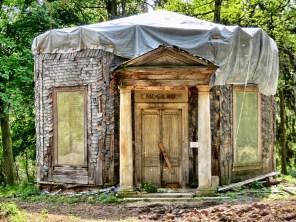 Die Jagdhütte, wird wohl endlich renoviert