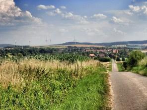 Blick nach Bodenburg