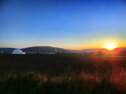 Sonnenaufgang über Wehrstedt