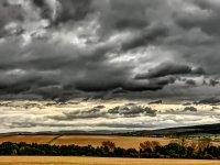Schöne Wolken, aber sie wollen nicht regnen :-)