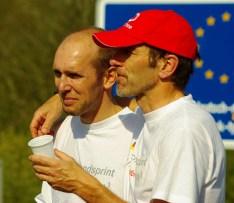 Ziel Deutschlandsprint mit Mario Reichelt