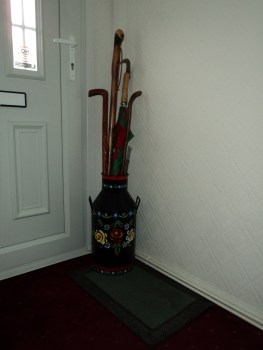 All finished as my Umbrella stand