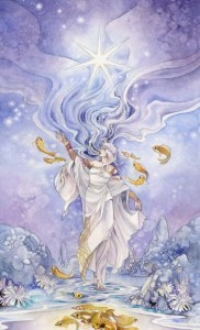 The Star from Stephanie Pui-Mun Law's Shadowscapes deck