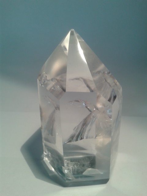 Put your hand on this quartz and absorb the Reiki energy...
