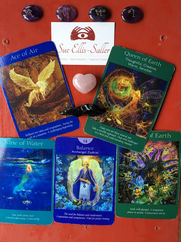 Angel Tarot Cards from Doreen Virtue published by HayHouse