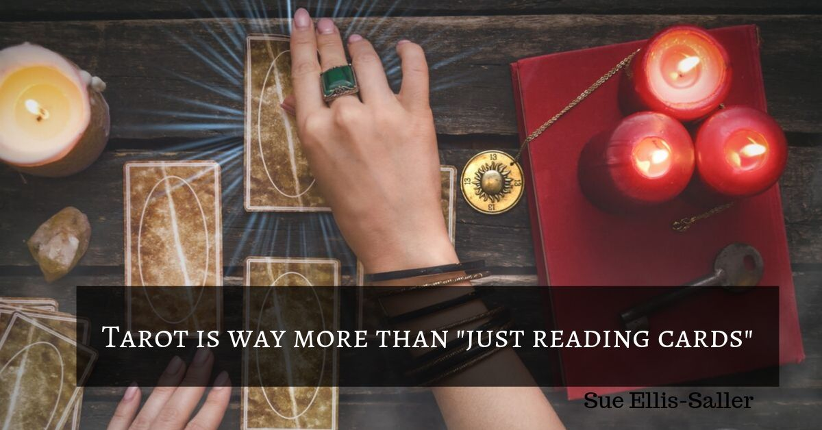 Reading tarot is more than just looking at some cards!