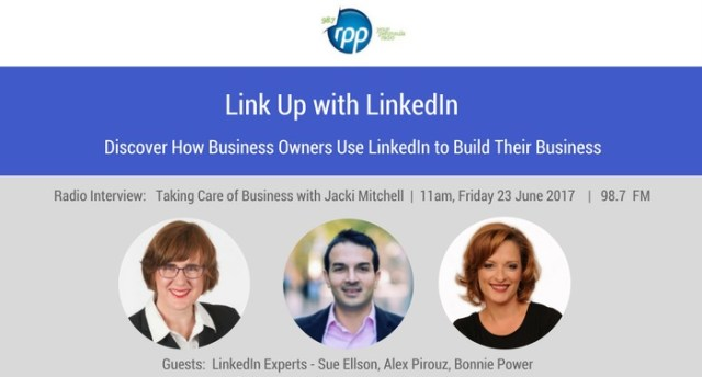 RPP FM Peninsula Radio - Link Up with LinkedIn