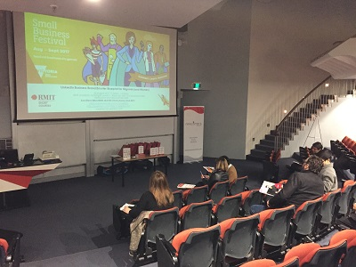Small Business Festival Victoria 2017 LinkedIn Business Brand Booster Blueprint for Migrants