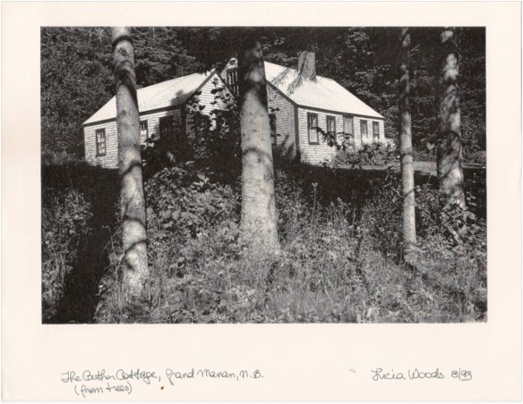 Willa Cather and Edith Lewis cottage, Grand Manan