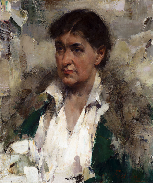 Painting of Will Cather by Nicolai Fechin (1881-1955)