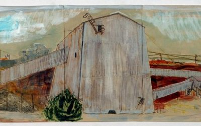 Age Of Oil: Mineworks residency – Landscape art research in Queenstown, Tasmania