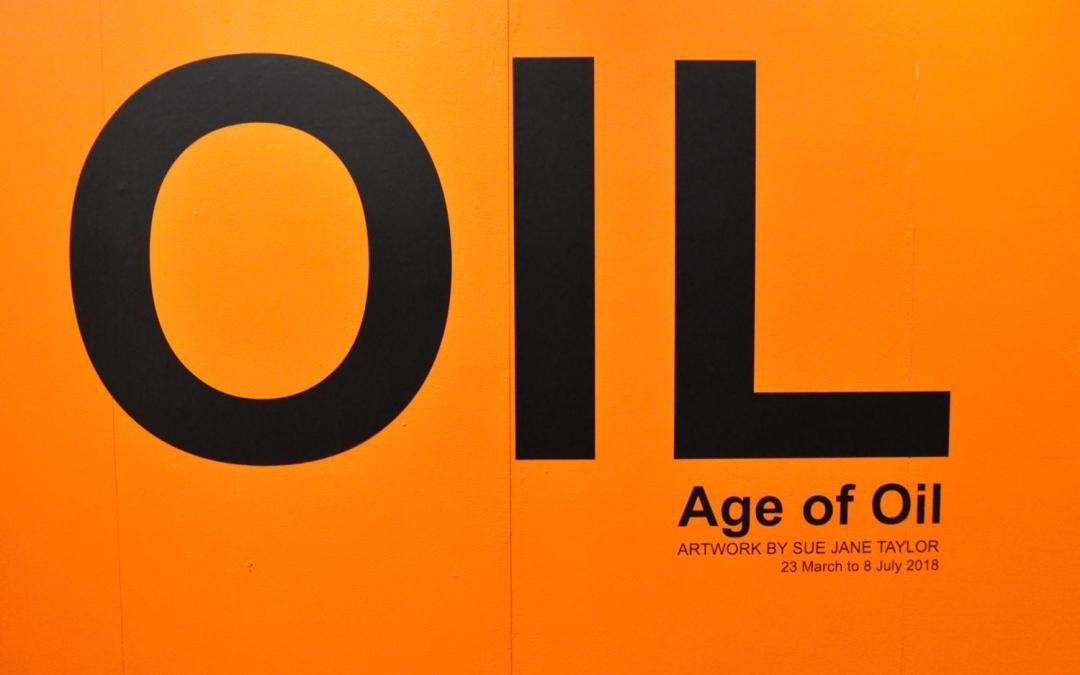Age of Oil touring in association with National Museum of Scotland