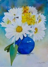 Daisies with Marigolds $99