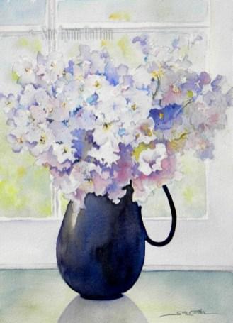 Purple Hydrangea $99
