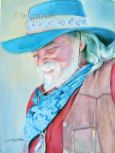 Cowboy with Blue Hat $99