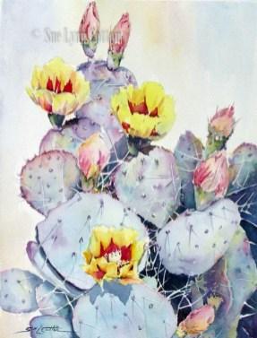 Yellow Flowering Cactus $99