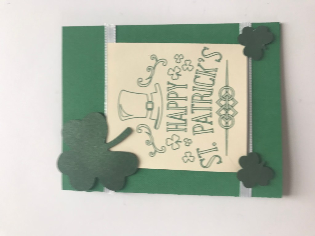 St. Patty's Day card.