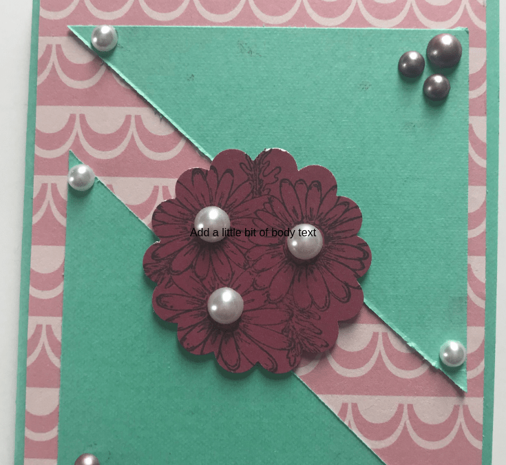 Made With Cricut Cardstock
