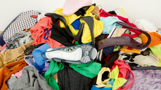 Clear the clutter of unwanted items and organize your life.