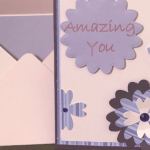 Amazing You Handmade card