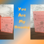 blessings, autumn, card, handmade