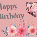 Canva Card, Happy Birthday Digital Card