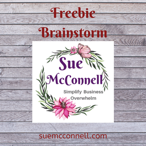 Brainstorm Freebie for your ICA. This workbook will give you an ideal of what you can create for your ICA freebie to gain subscribers.