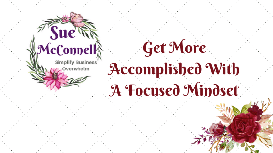 Your mindset runs your life. If you want to get things done, you need an accomplished mindset.