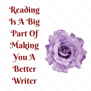 Reading can be for pleasure but also to inspire your own creative juices.