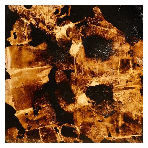 'Hot Cross Bun' (100 x 100cm, oil & mixed media on canvas, 2009) £750