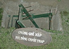Folding Chair Booby Trap