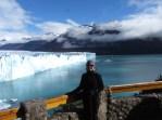 Sue at Perito Moreno