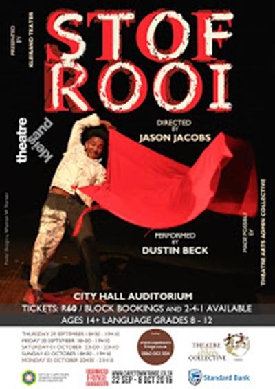 Stof Rooi – Cape Town Fringe Festival 2016
